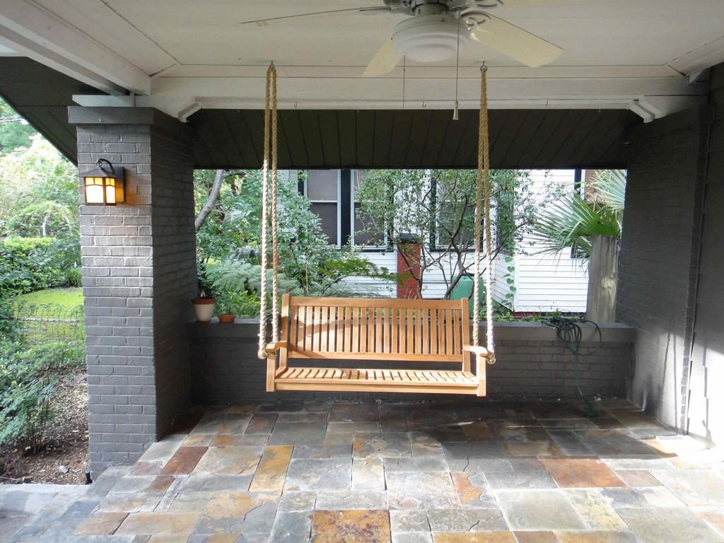 How To Hang A Porch Swing From Ceiling